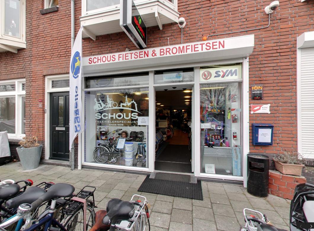 Schous fietsen en bromfietsen winkel